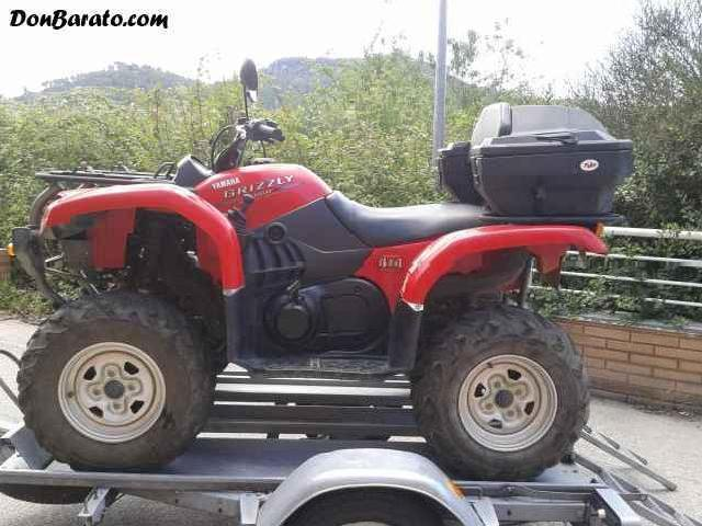 Se Vende <strong>Yamaha</strong> <strong>Grizzly</strong> <strong>660</strong> Del 2005 Con 5700km
