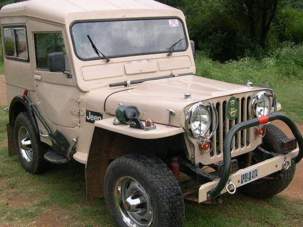 Senior Army General's Unique Diesel Willys Jeep