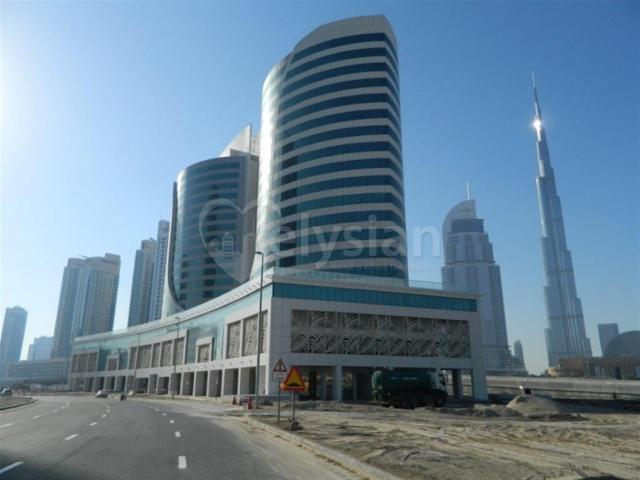 Shell And Core Office In Executive Heights Business Bay Aed 1,637,100