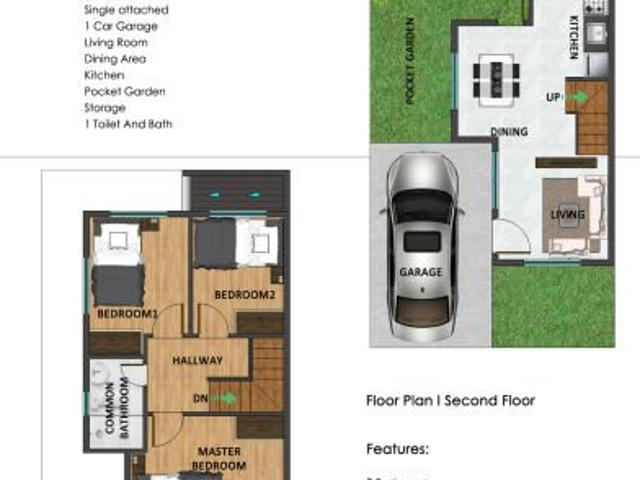 Single Attached House And Lot Near Quezon City