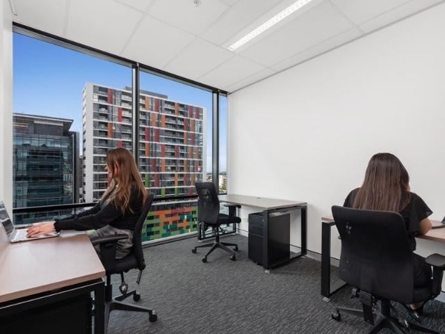 Spacious 4 Person Office Available Now! City Views Don't Miss Out!