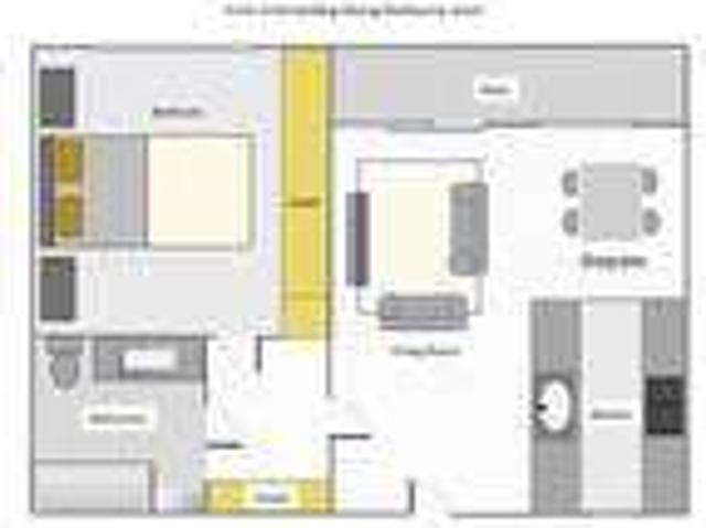 Specious Front Unit One Br+one Ba With Balcony
