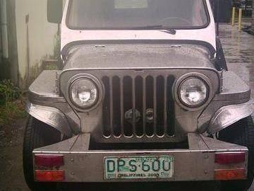 Stainless Steel Owner Type Jeep Big Body *sold