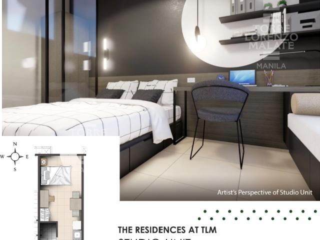 Studio Unit The Residences At Torre Lorenzo Malate Your New Address Of Grandeur In Manila