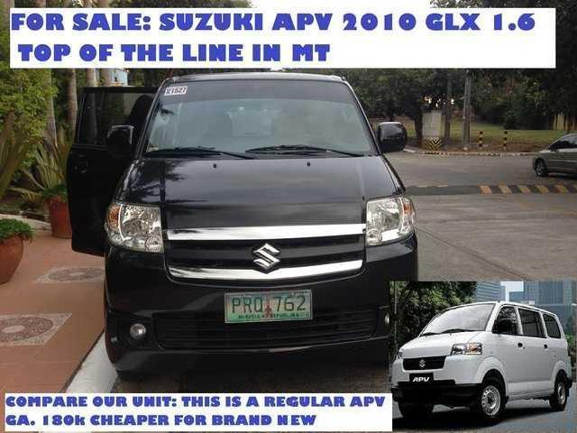 Suzuki Apv 10' Mt With Mags And Led Tv Monitors Front And Back
