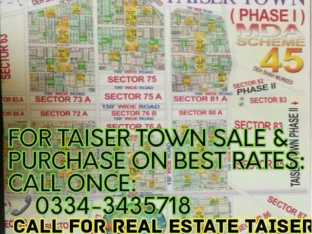 Taiser Town Sector 25 240 Sqyds Corner Vip
