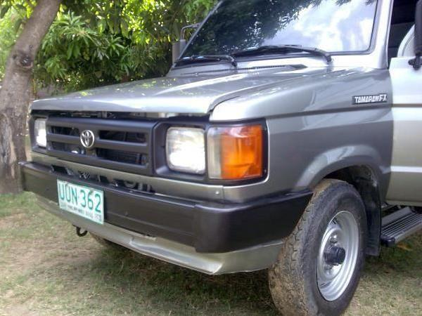 Tamaraw Fx 1998 Sold As Of Apr 23, 2009 Tnx For Viewing