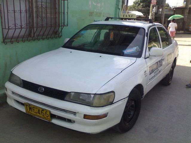 Taxi fo sale 1996 mdl toyota corolla with taxi line til 2014