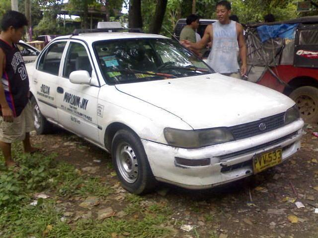 Taxi For Sale! 1995 Mdl Toyota Corolla Taxi With Lpg