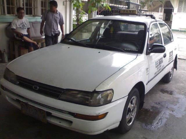 Taxi for sale 1996 mdl toyota corolla with line till 2014