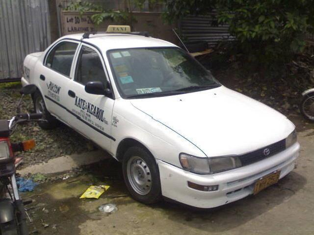 Taxi For Sale! 1997 Mdl Toyota Corolla With Taxi Line Up To 2010 Extendable