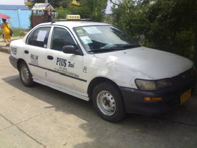 Taxi For Sale! 1997 Mdltoyota Corolla Xl With Taxi Line Up To 2010 Extendable