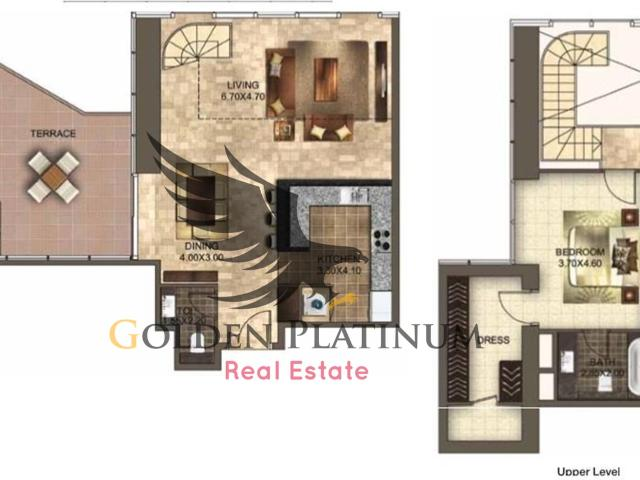 Terrace 2bed Duplex Apatment In Central Park Tower Difc For Rent 195k Aed 195,000