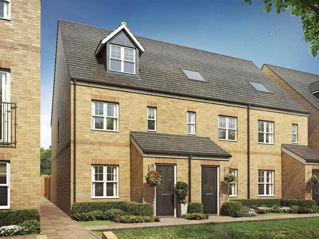 Terraced 3 Bedroom House For Sale In Plot 8, The Braunton, Meridian Place, Hertford On Boomin