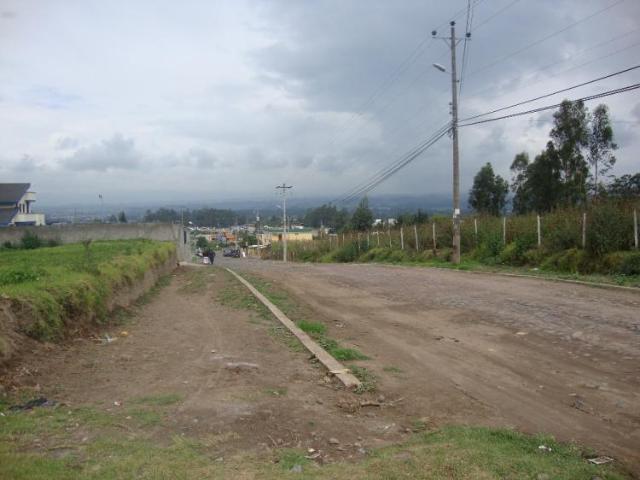 Terreno En Venta En Amaguana Pichincha $ 80000