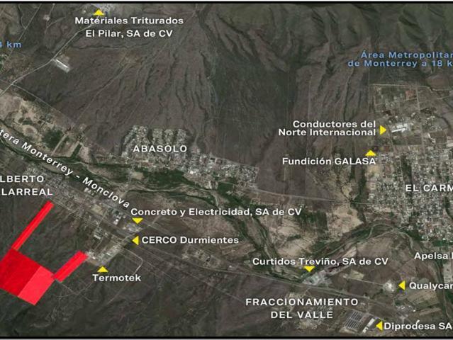 Terrenos En Abasolo N.l. A 755 M De La Carretera Monterrey Monclova Km 19