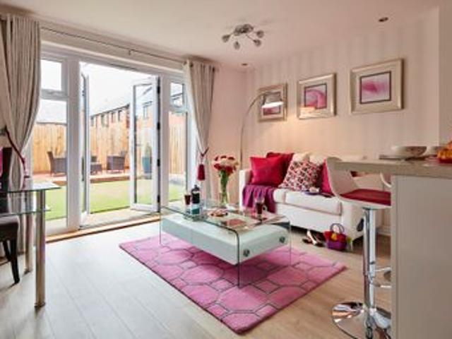 The Appleford Plot 69 At Ruston Road, Burntwood Ws7, 2 Bedroom Terraced House