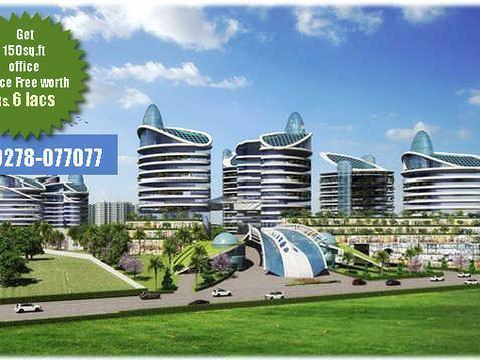 The Mega Township Of Hopes Airwil Organic Smart City In Noida@9278077077
