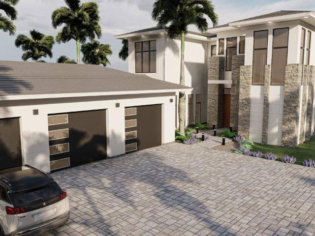 This Home Defines The New International, Modern Clean Architectural Style