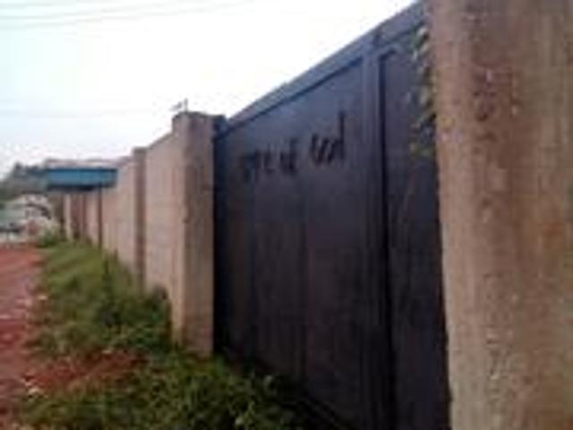Three Plots Of Industrial Fenced And Well Secured Land