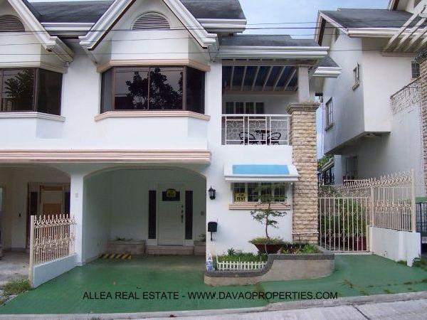 Town House For Rent Davao City Philippines