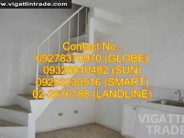 Townhouses And Lot For Sale In Carmona Cavite
