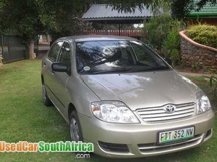 Toyota In Klerksdorp Used Toyota 2005 Klerksdorp Mitula Cars