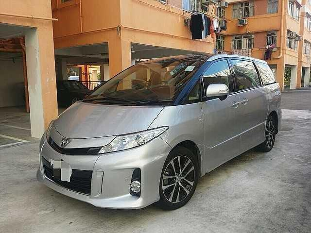 Toyota 2013 2013 toyota previa aeras 2 4 luxury mpv 7 seats just 30000km accident free