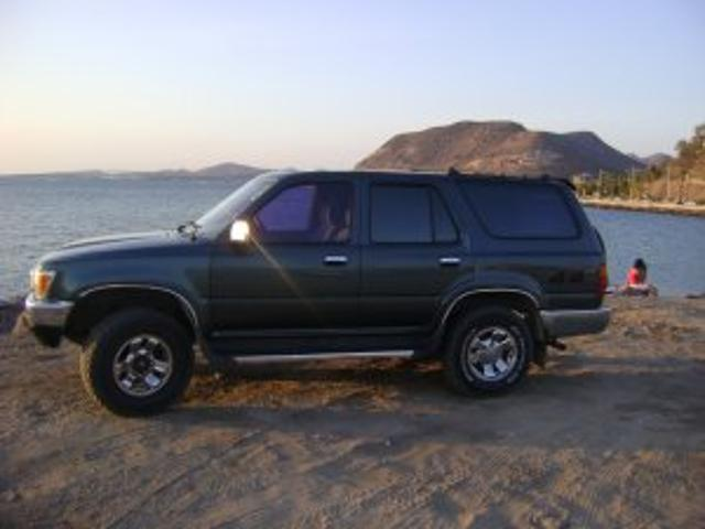 Toyota 4runner 1991, Automática, 3.4 Litres