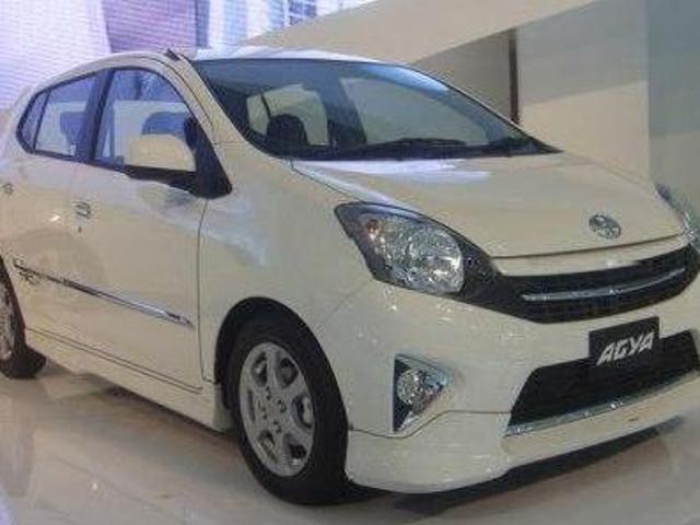 Toyota Agya Di Bandung Mobil Toyota Agya Paket Kredit Bandung