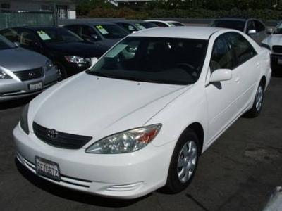 Toyota Camry LE In California   Used Toyota Camry Le White 2004 California    Mitula Cars