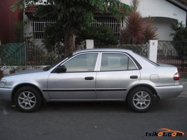 Toyota corolla 1998 gasoline toyota corolla 1998