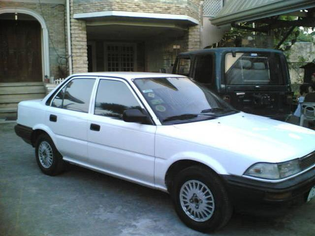<strong>Toyota</strong> <strong>Corolla</strong> 92', <strong>Modified</strong> Sound System