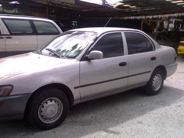 Toyota Corolla Xl 96' Model