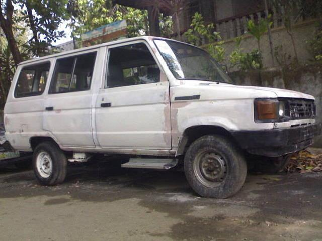 Toyota Fx With.g.t Express Rush For Sale
