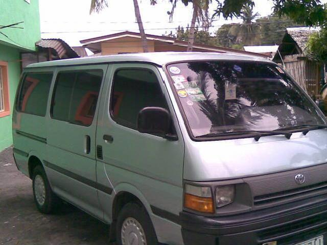 Toyota Hi Ace Local Not Subic