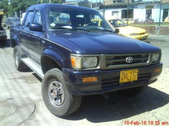 Toyota Hilux Mod 93 4x4 A Gas
