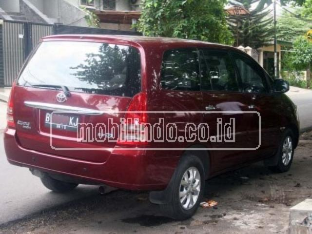 Toyota kijang innova luxury v at gasoline innova 2 7 v 2700 cc 160 ps