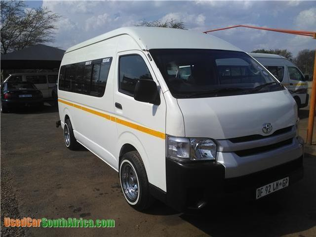 Currently 19 Toyota Quantum for sale in Benoni - Mitula Cars