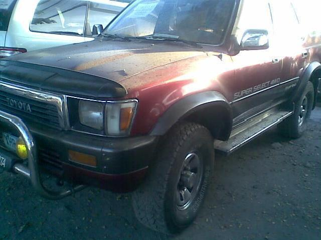 Toyota Surf Automatic 4x4 Big Tires Loaded P260k Neg