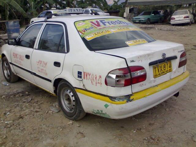Toyota Taxi New Luk Body Rush For Sale!