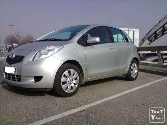 Voitures occasion yaris vvti luna 3 in portes mitula voiture for Interieur yaris 2007