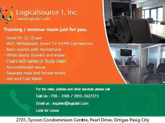 Training/seminar Room For Rent