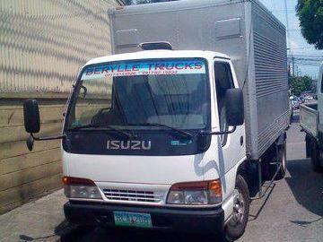 Trucks for sale isuzu elf aluminum closed van