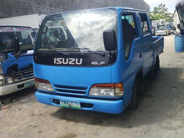 Trucks For Sale Isuzu Elf Double Cab 4jg2 Orig 4w