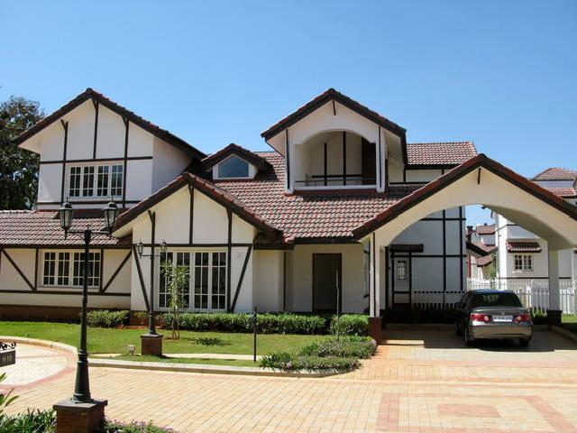 [+] Tudor Style Beautiful Villa Available For Rent At Whitefield, Bangalore