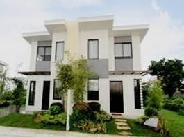 Twin Home Type House In Capas,tarlac