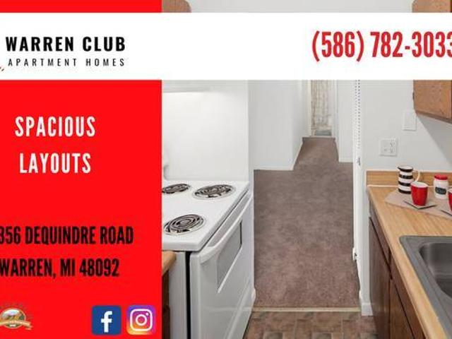 Two Bedroom Apartment Available In August Warren