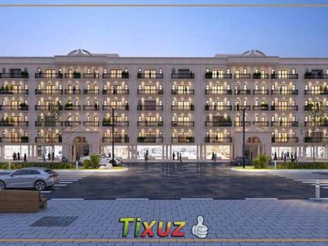 Two Luxury Flat Is Available On Installment Iqbal Block Bahria Town