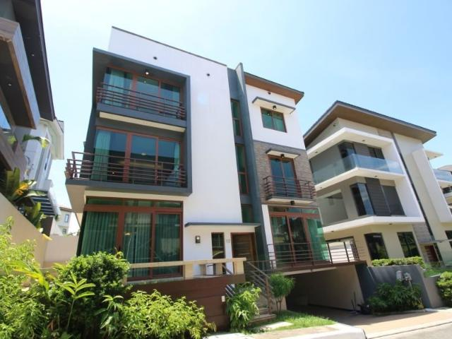 Ultramdoern House And Lot For Sale Inside Mckinley Hills With 5 Bedrooms And 4 Car Garage ...
